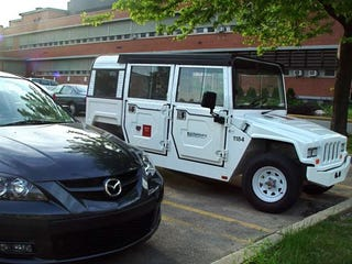 Electric Mini Hummer Spotted In The Wild