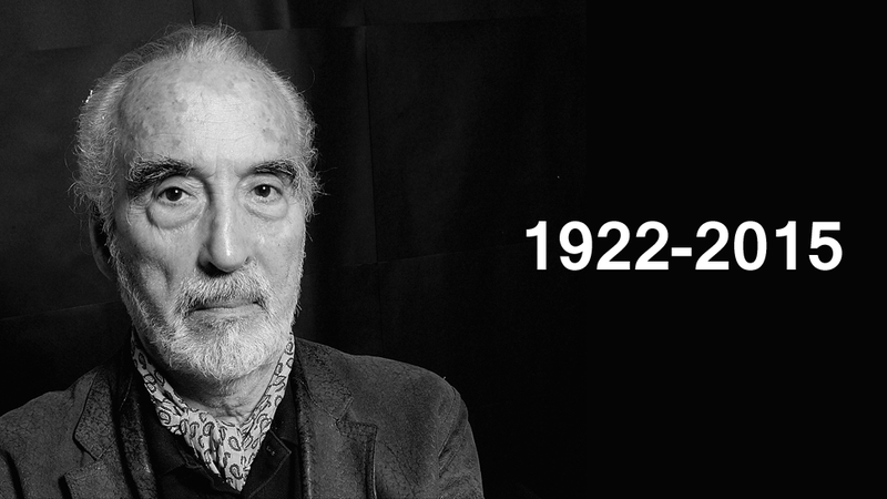 Illustration for article titled RIP Sir Christopher Lee, 1922-2015
