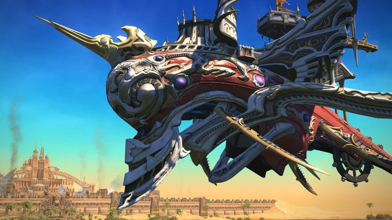 Illustration for article titled This Week's Final Fantasy XIV Patch Is Pretty Exciting