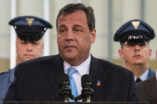 New Jersey Gov. Chris Christie in 2014Andrew Burton/Getty Images