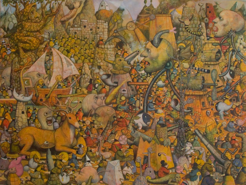 You've Never Seen Fairytale Art Like THIS Before