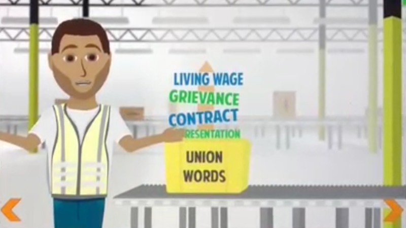 Illustration for article titled Amazon's Aggressive Anti-Union Tactics Revealed in Leaked 45-Minute Video