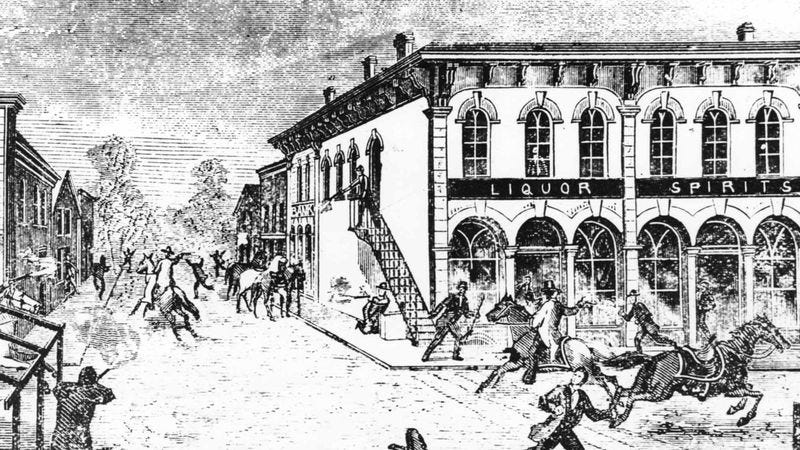 Illustration for article titled Copycat Criminals Continue To Mimic Liquor Store Robbery From 1822