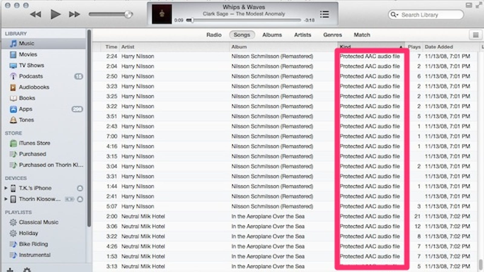 Delete Old DRM Copies of iTunes Music and Download DRM-Free