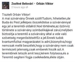 Illustration for article titled Az Isten üzent a budapesti szivárvánnyal Orbán Viktornak (frissítve)