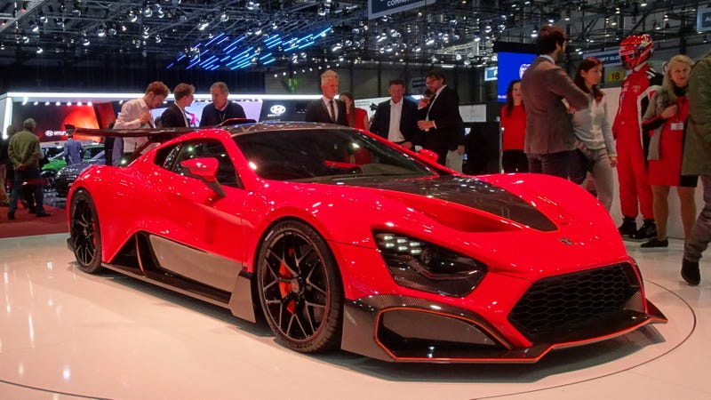 Illustration for article titled Zenvo Isn't About Top Speeds, It's About Looking Sinister While Going Fast