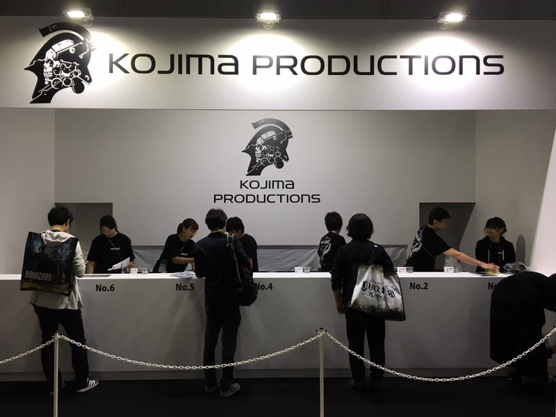 Illustration for article titled Kojima Productions Has Things It Wants You To Buy