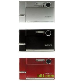 Illustration for article titled Sony Cyber-shot DSC-T50 Leaked Pics