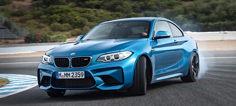 Illustration for article titled The 2016 BMW M2 Is A 365 Horsepower Love Letter To Speed Freaks Everywhere