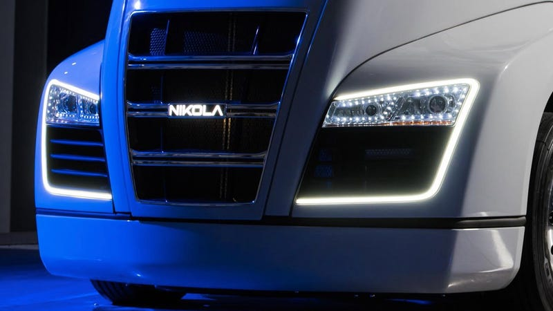 Those are some big LED accents alright. (Photo Credit: Nikola)