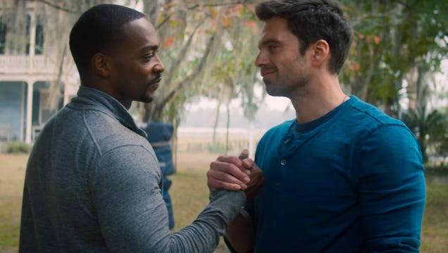 This New Falcon and the Winter Soldier Clip Is a Minute of Pure Delight