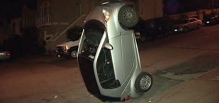Someone S Doing Dumb Stuff With Smart Cars In The Bay Area A Report Says Los Angeles Is Beyond Help And Did Architect Thom Mayne New Building Damage