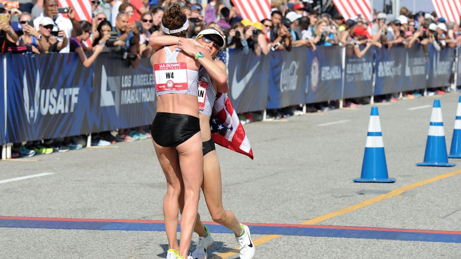 ac155a1fd24d9 The U.S. Olympic Marathon Team  BFFs