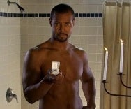 Isaiah Mustafa as the Old Spice Guy (Photo from Video).