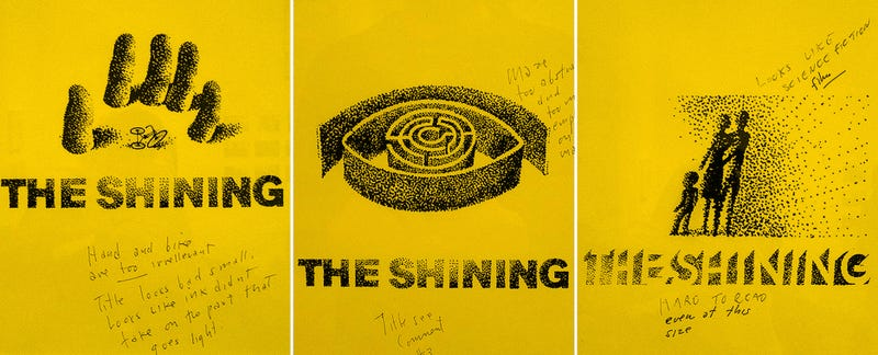 Illustration for article titled Making the poster of The Shining was as intense as the movie itself