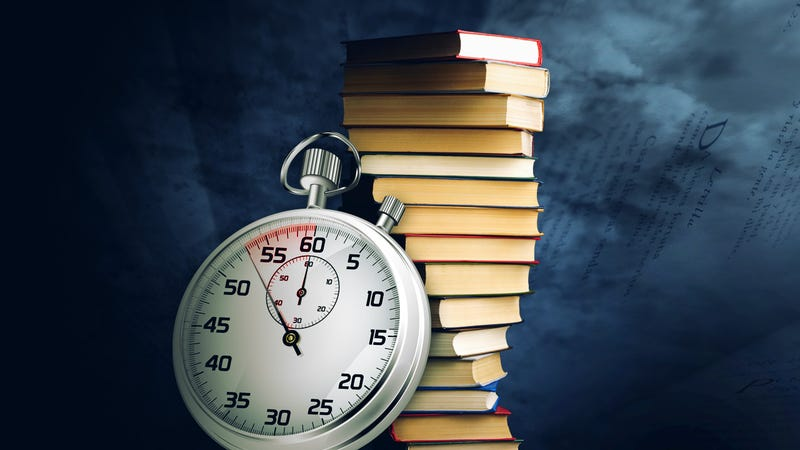 Illustration for article titled Can I Learn to Read Faster and Get Through My Backlog of Books?