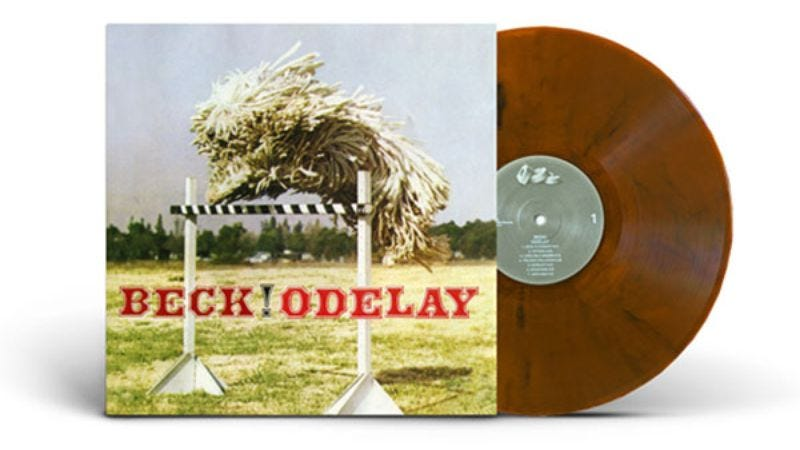 Illustration for article titled Beck's Odelay is getting a booze-colored vinyl pressing