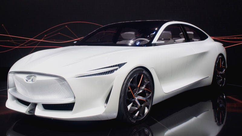 Illustration for article titled Infiniti Is Making An Electric Car Based On The Striking Q Inspiration Concept