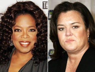 Illustration for article titled Oprah and Rosie: We're Not Fighting