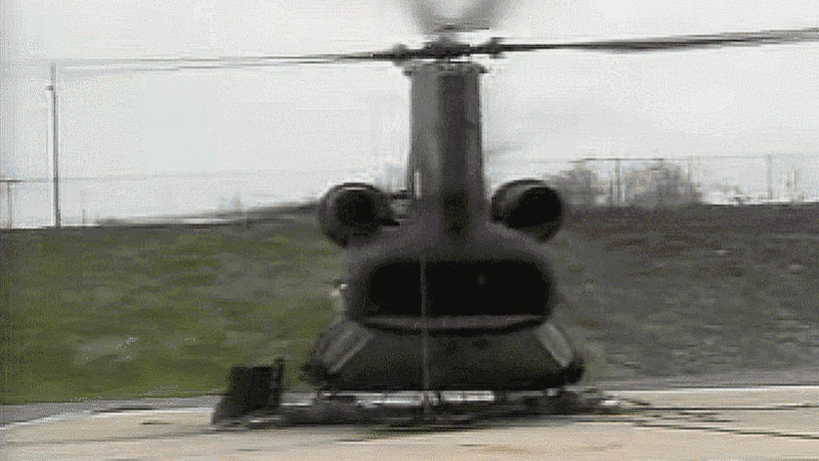 La increíble destrucción a la que se someten los helicópteros en pruebas de resistencia