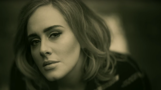 "Adele in the video for ""Hello""YouTube/AdeleVevo screenshot"