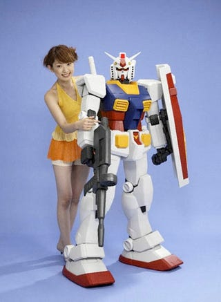 Action Auto Parts >> Human-Sized 1/12 Scale Gundam RX-78-2: Giant Toy Robot, Not Yet Big Enough to Pilot