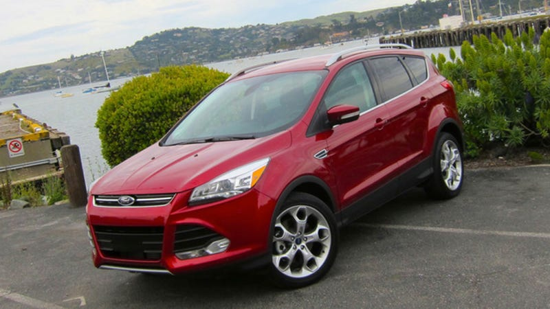 2013 ford escape first drive. Black Bedroom Furniture Sets. Home Design Ideas