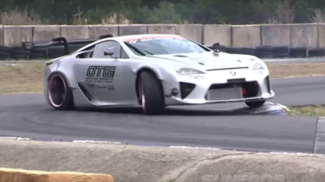 separation shoes 24ada 9d1a8 One of the coolest builds of recent years is Yoichi Imamura s Lexus LFA  drift car with a Toyota NASCAR V8 under the hood. We saw it test and run a  few ...