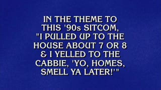 It's Time Again To Watch Alex Trebek Rap: Now, The <i>Fresh Prince</i> Theme