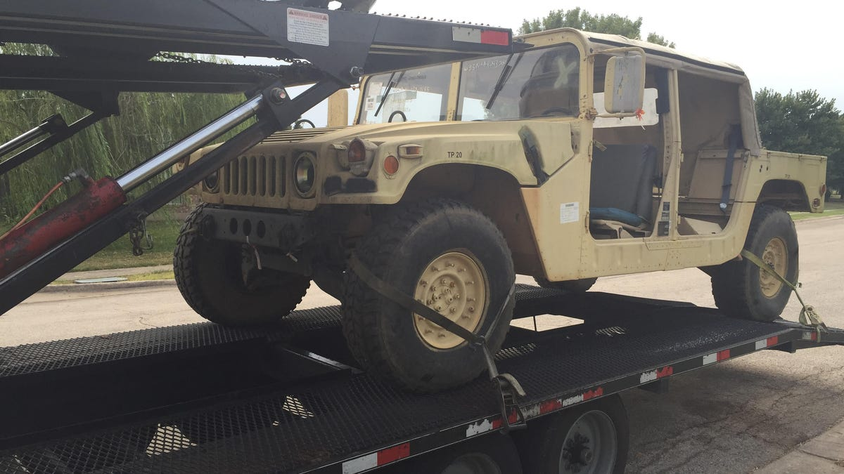 Make Your Military Surplus Hummer Street Legal: Not Easy ... | army surplus hummers for sale