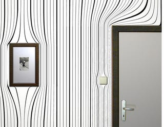 Illustration for article titled Warping Wallpaper, Grandma's House Got Trippy