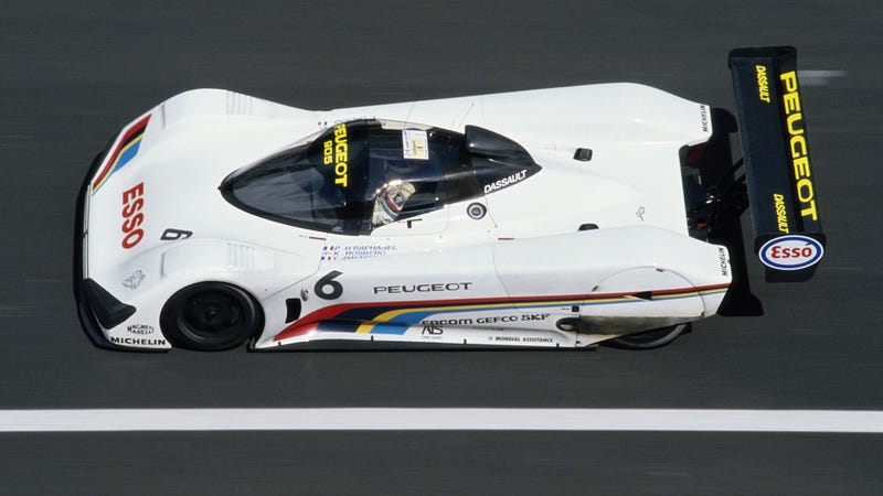 The 1991 Peugeot 905 at Le Mans.  Photo: Getty Images