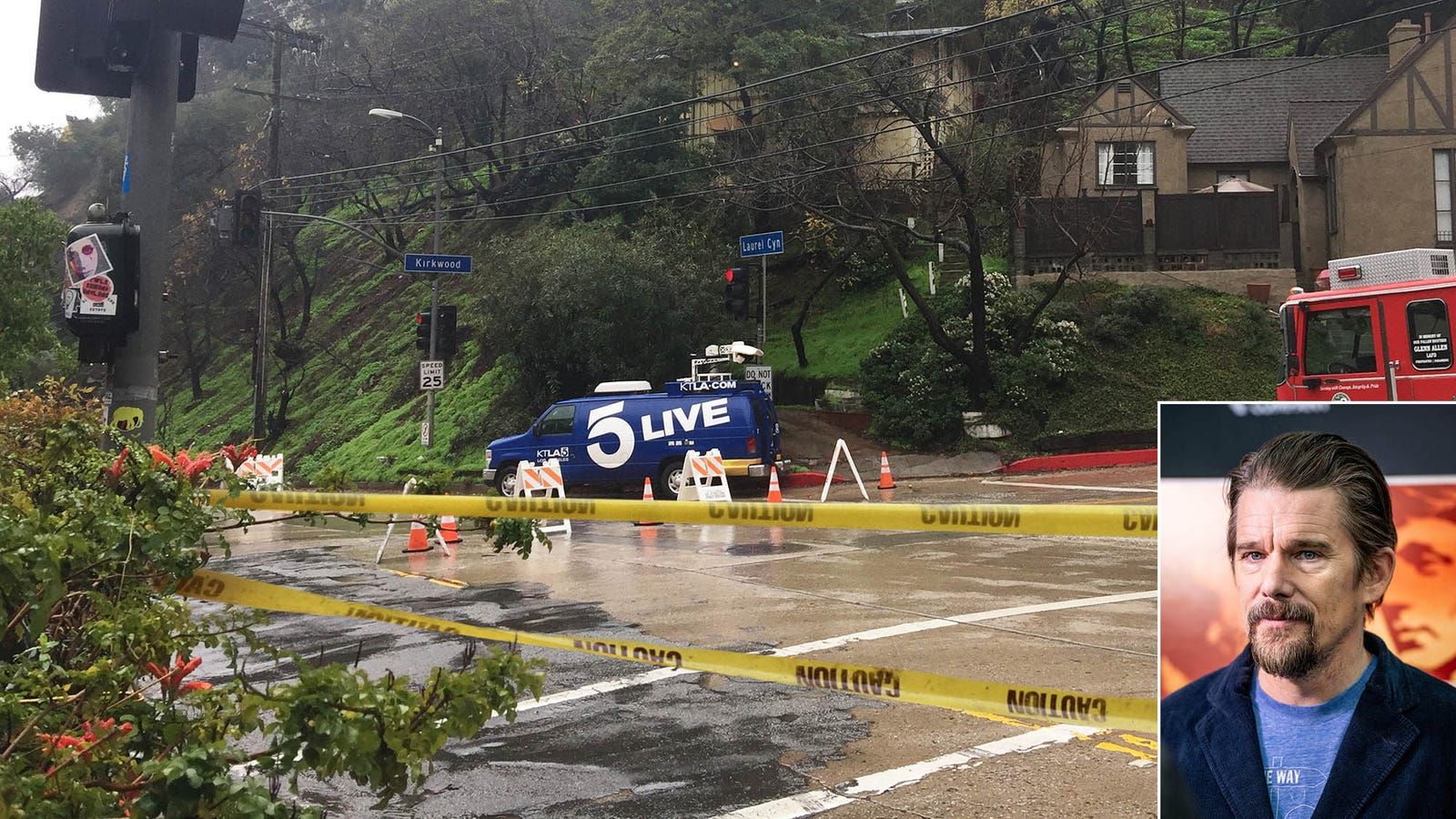 Ethan Hawke's Body Found Dumped In Laurel Canyon As 2019 Oscar Race Heats Up