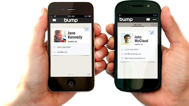 Illustration for article titled Bump Is the Newest, Easiest Way to Send Your Digital Goodies From Your Phone to Your Computer