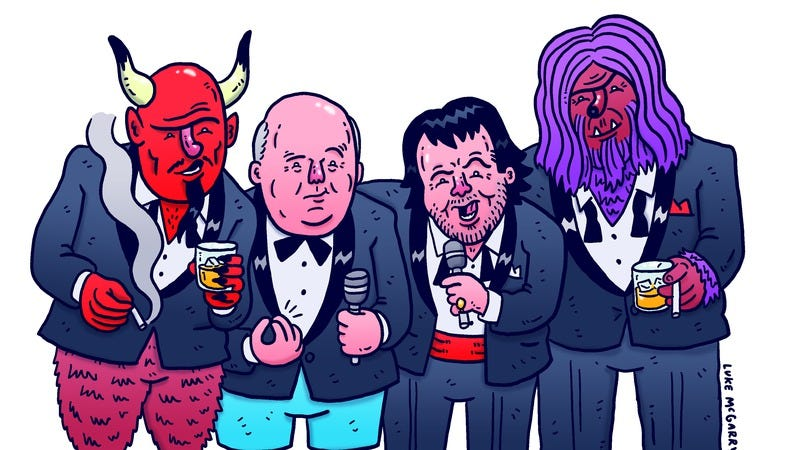Illustration for article titled Exclusive: Jack Black and Kyle Gass reveal the lineup for this year's Festival Supreme