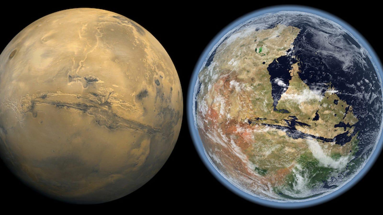 Fue el Sol: el viento solar hizo desaparecer la atmósfera de Marte, y con ella sus océanos