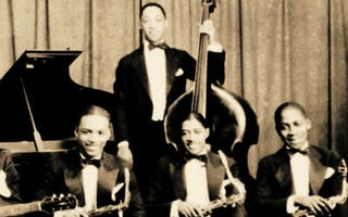 Members of the Savoy Ballroom house band (Courtesy of 'The Savoy King')