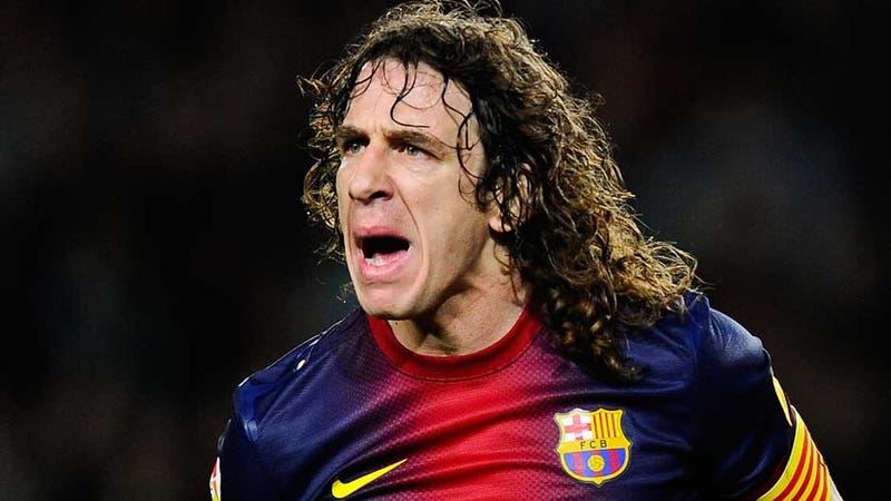 Illustration for article titled Carles Puyol, Warrior Caveman, To Leave FC Barcelona