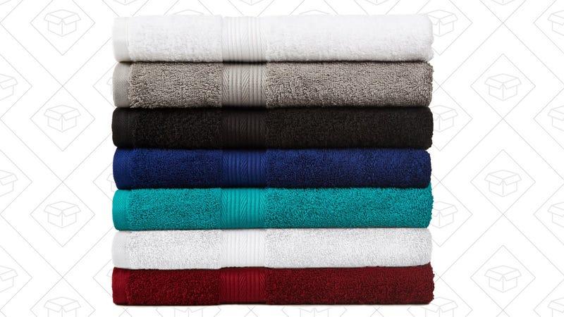 6-Piece AmazonBasics Towel Sets, $15