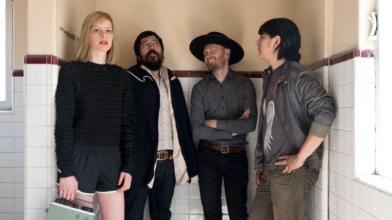 From left: Annika Henderson, Hugo Quezada, Martin Thulin, and Amon Melgarejo (Photo: Andrea Martinez)