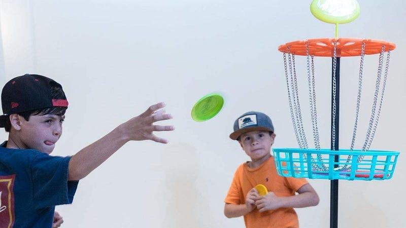 Indoor/Outdoor Mini Frisbee Golf Set | $13 | Amazon