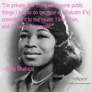Betty Shabazz (Michael Ochs Archive/Getty Images)