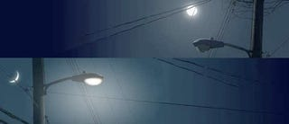Illustration for article titled Lunar-Resonant Streetlights Only Shine When the Moon Doesn't