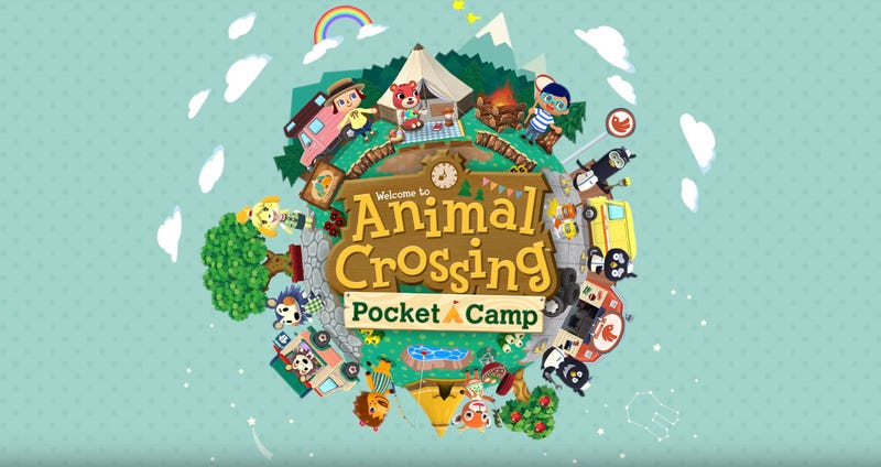 Illustration for article titled Animal Crossing Coming To Phones As A Camping Game