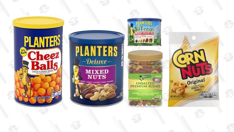 Planters Nuts Gold Box | Amazon