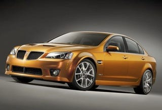 Illustration for article titled 2009 Pontiac G8 GT Stuck With Slushbox