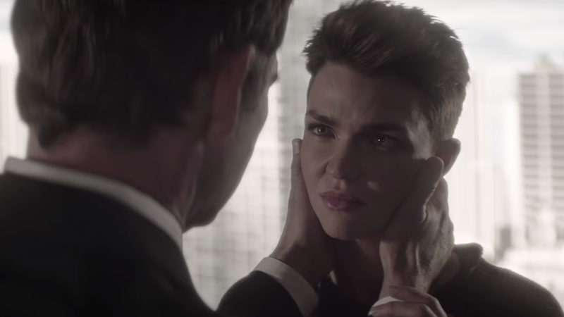 Ruby Rose as Kate Kane on CW's Batwoman.