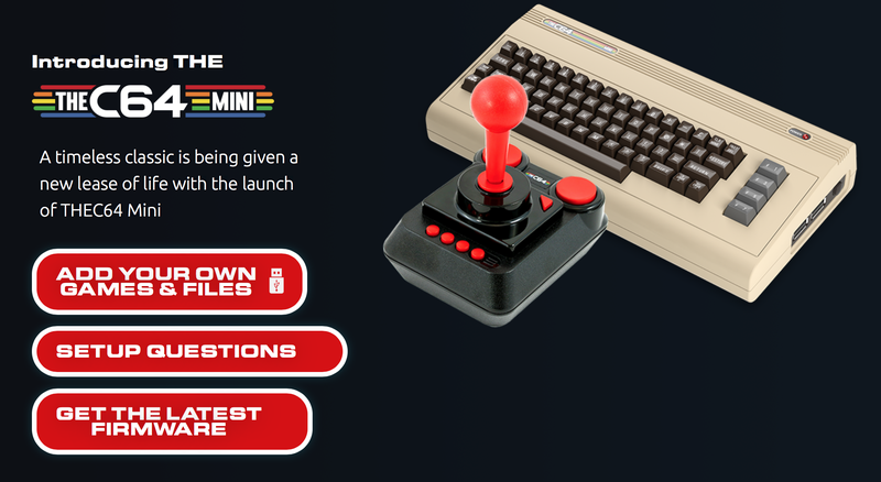 Preorder Commodore 64 Mini | $80 | Walmart