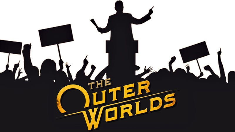 Illustration for article titled The Outer Worlds - A Vision to Avoid a Politically-Charged Game