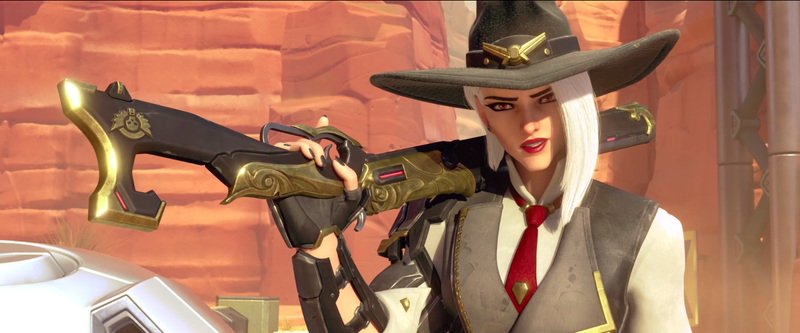 Illustration for article titled Overwatch's Next Hero Is Ashe, Leader of the Deadlock Gang